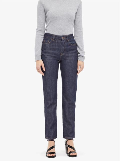 Womens Study Rodeo Jeans Mid Blue