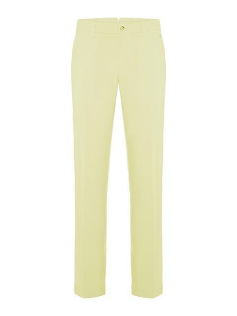 Mens Ellott Micro Stretch Reg Fit Pants Still yellow
