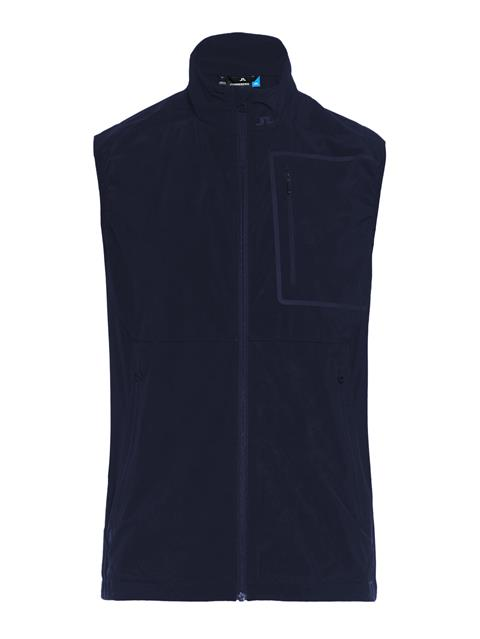Mens Kinetic Lux Softshell Vest JL Navy