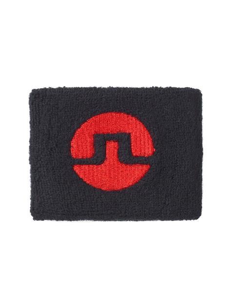 Mens Cotton Inverted Bridge Sweatband Black