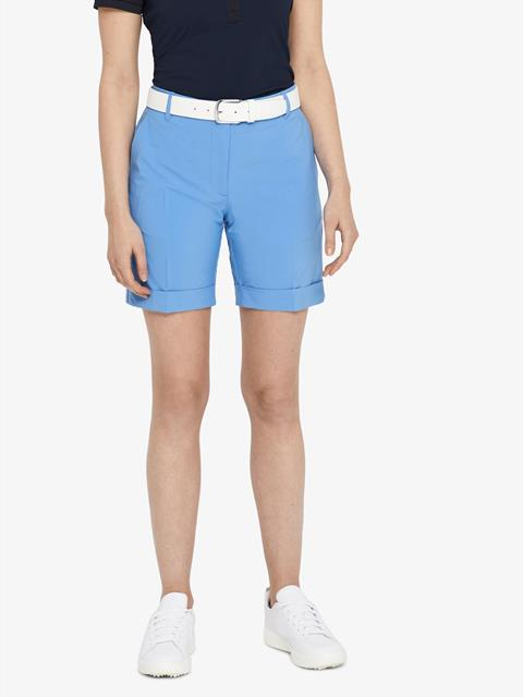 Womens Klara Micro Stretch Shorts Silent blue