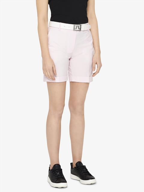 Womens Klara Micro Stretch Shorts Soft pink