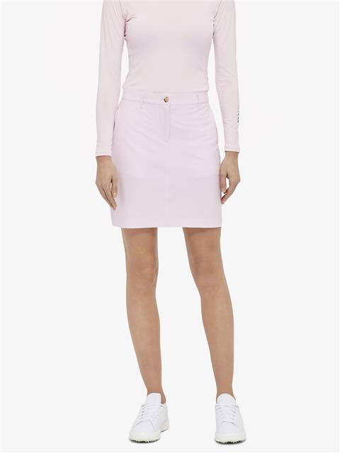 Womens Allie Micro Stretch Skirt Soft pink