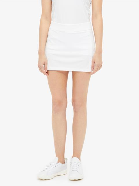 Womens Amelie TX Jersey Mini Skirt White