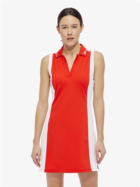 Womens Louze TX Jersey Dress Racing Red