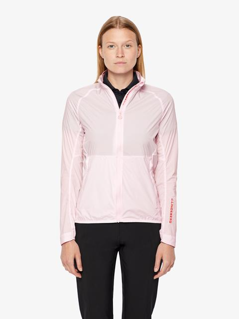 Womens Sally Stretch WindPro Jacket Soft pink