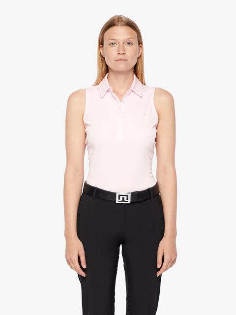 Womens Dena TX Jersey Polo Soft pink