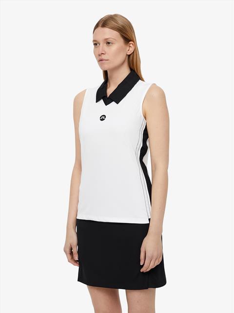 Womens Sha TX Jersey Polo White emb. print