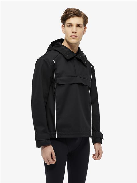 Mens Nils Bonded Weave Jacket Black