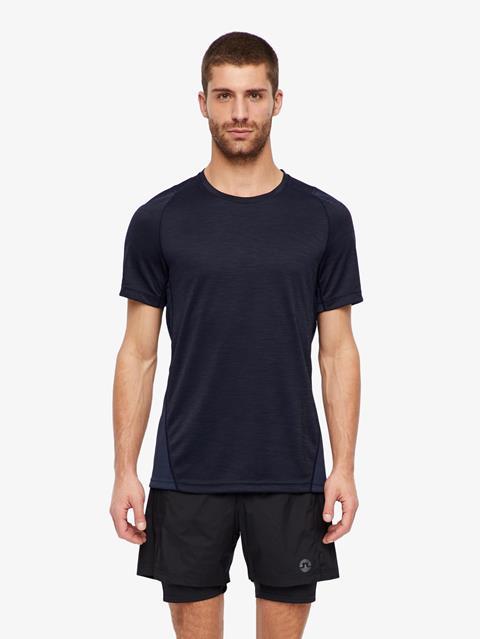 Mens Sandy Melange Jersey T-shirt JL Navy