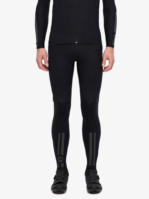 Mens Speed Bike Leg Sleeve Black