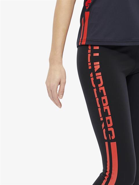 Womens Elaina Compression Leggings Black