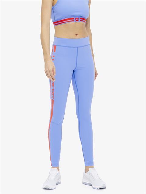 Womens Elaina Compression Leggings Silent blue