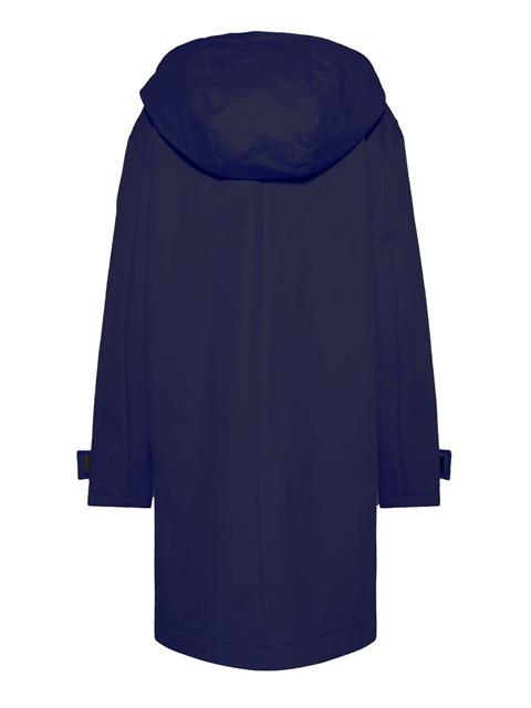 Womens Elle Bonded Weave Coat JL Navy