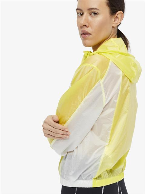 Womens Celia Transparent Jacket Still yellow