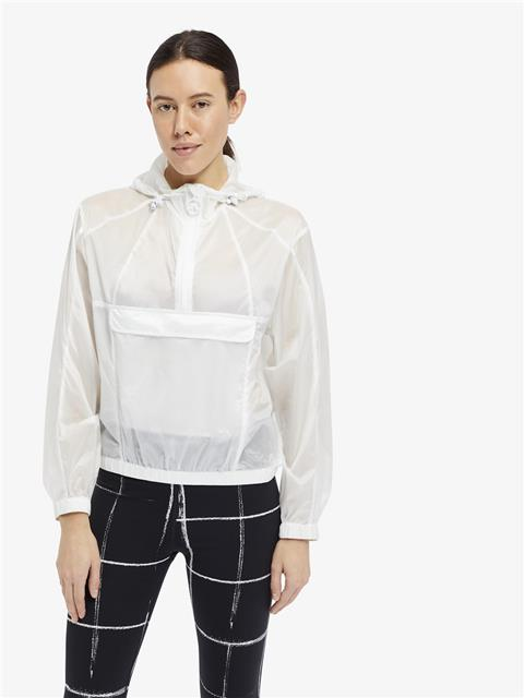 Womens Celia Transparent Jacket White