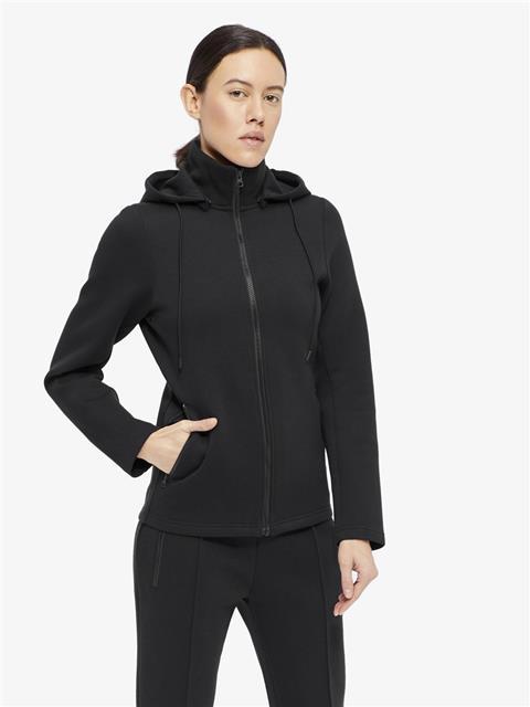 Womens Louna Tech Sweat Jacket Black