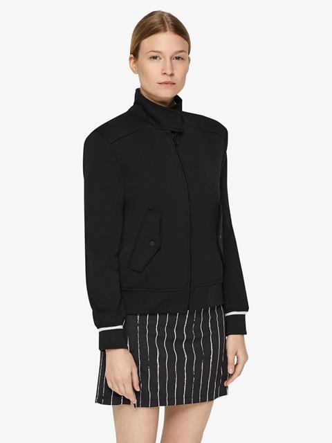 Womens Lenore Tech Track Jacket Black
