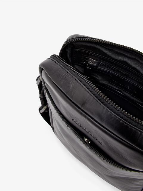 Mens Leather Bag Black