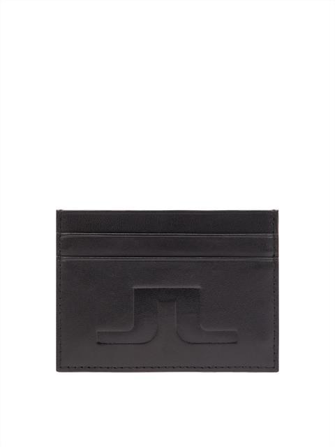 Mens Leather Cardholder Black