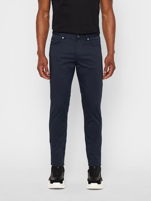 Mens Jay Satin Jeans Navy