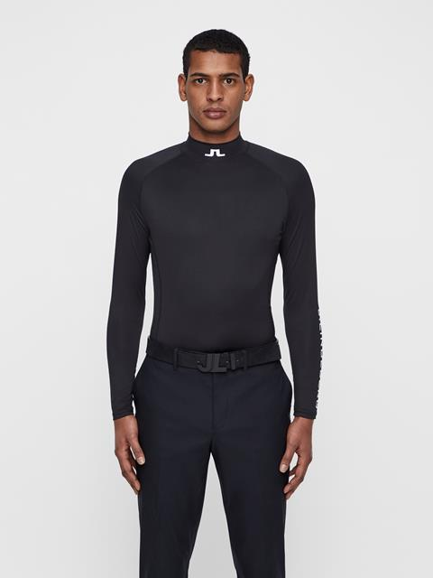 Mens Aello Compression Layer Black