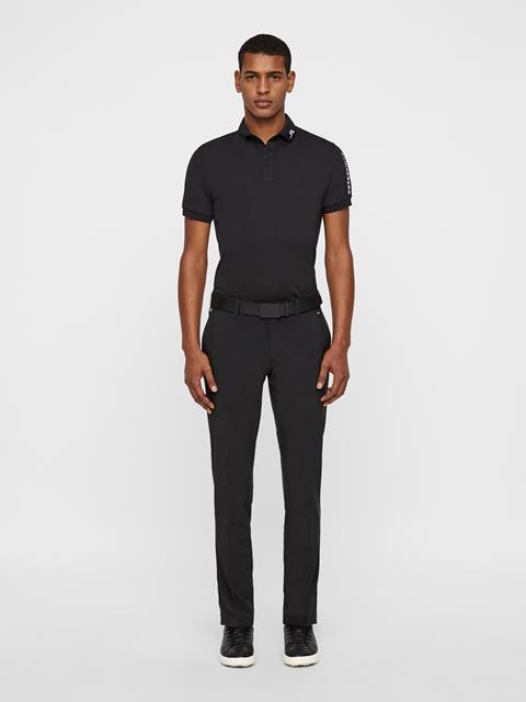 Mens Ellott Slim Micro Stretch Pants Black