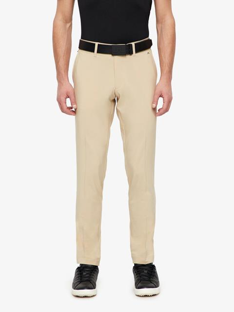 Mens Ellott Slim Micro Stretch Pants Safari Beige