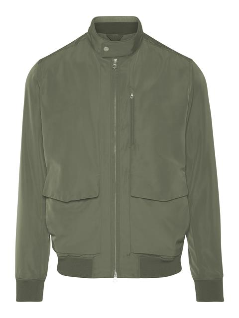 Mens Traver Micro Twill Jacket Lichen Green