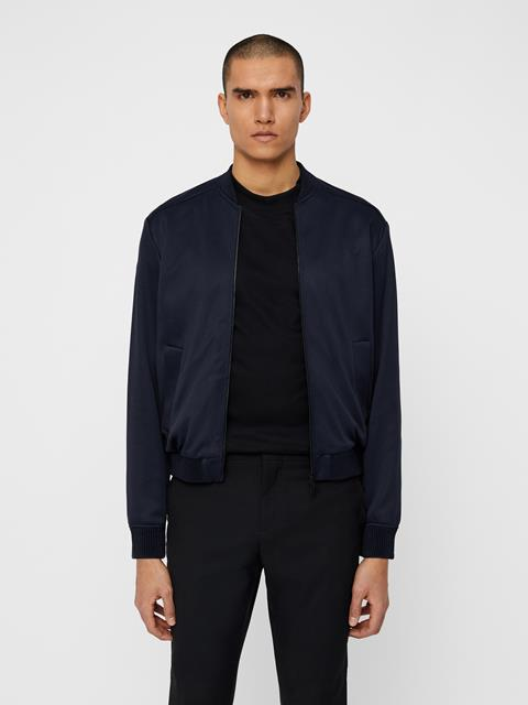 Mens Sasha Double Jersey Jacket JL Navy