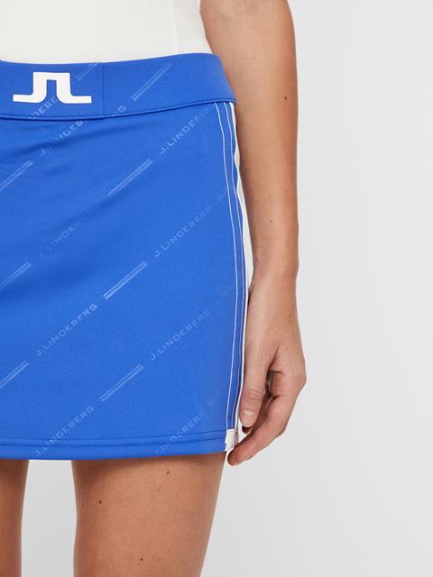 Womens Sayen TX Jersey Skirt Daz Blue Print