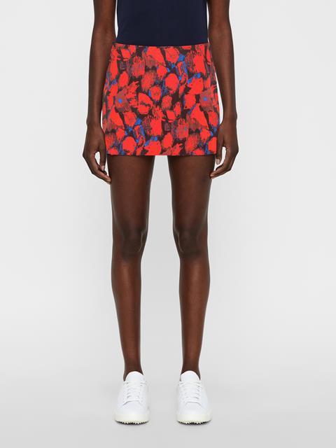 Womens Amelie TX Jersey Skirt Red Sports Camo