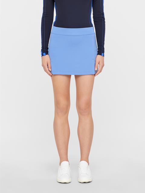 Womens Amelie TX Jersey Skirt Silent blue