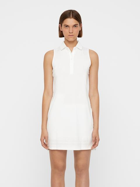 Womens Reeta TX Jersey Dress White