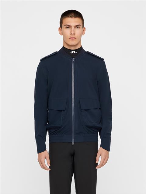 Mens Tech 2.5 Ply Bomber Jacket JL Navy