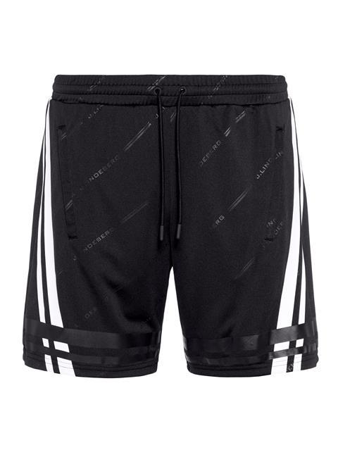 Mens Danny TX Jersey Shorts Black Print