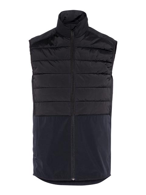 Mens Season Hybrid Vest Black