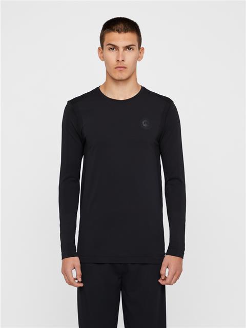 Mens Merika Seamless T-shirt Black