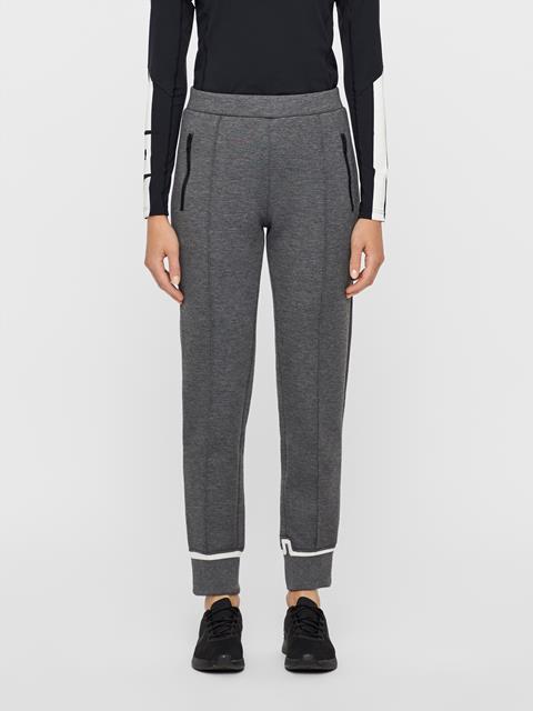 Womens Lina Tech Sweatpants Grey Melange
