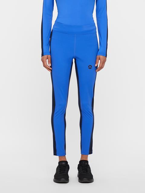 Womens Elah Compression Leggings Daz Blue