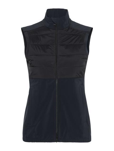 Womens Season Hybrid Vest Black