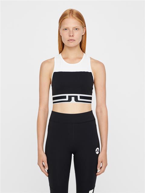Womens Vena Compression Sports Bra Top Black