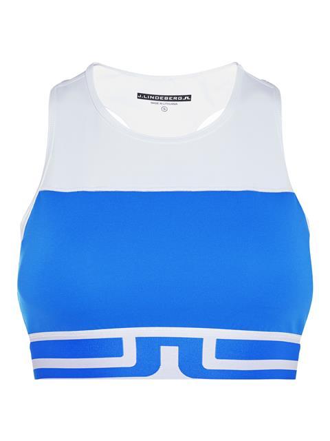 Womens Vena Compression Sports Bra Top Daz Blue