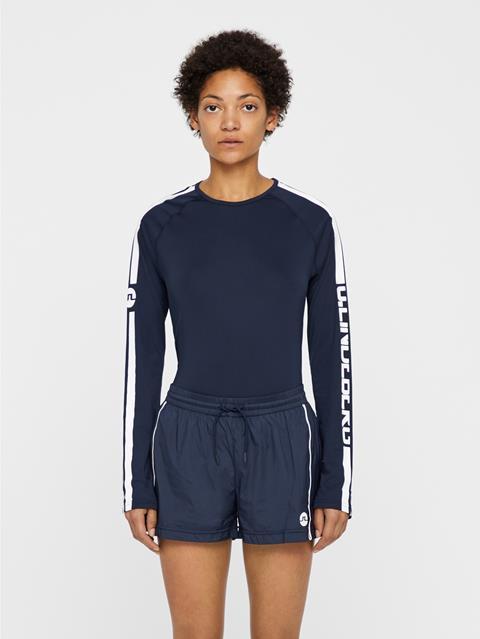 Womens Avril Jersey T-shirt JL Navy