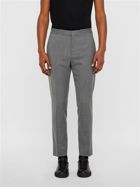 Mens Sasha Quadrat Drawstring Pants Stone Grey