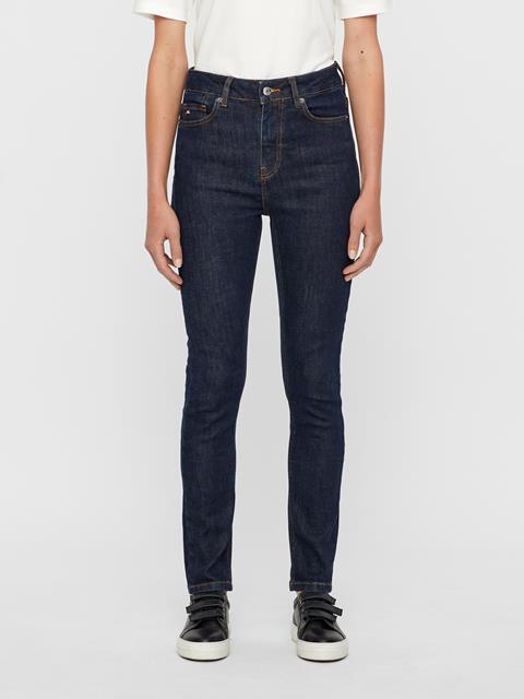 Womens Uma Rinsed Jeans Mid Blue