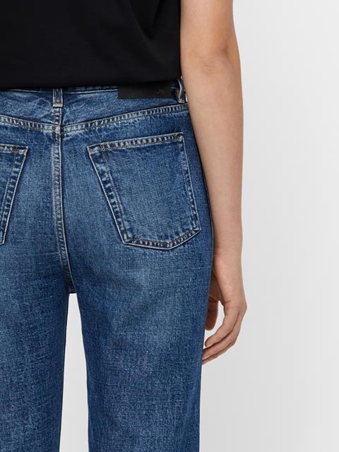 Womens Beltran Beyond Jeans Mid Blue
