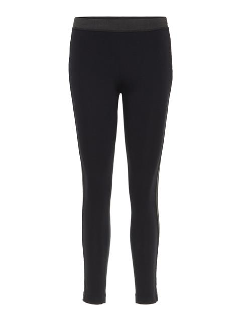 Womens Rikke Lux Jersey Leggings Black