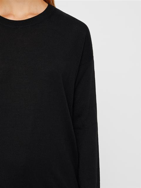 Womens Kerli Perfect Merino Sweater Black
