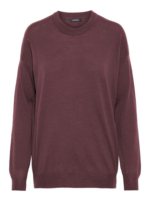 Womens Kerli Perfect Merino Sweater Burgundy